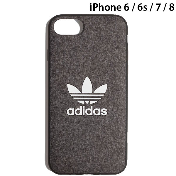 adidas iPhone SE 第2世代 / 8 / 7 / 6s / 6 OR TPU Moulded Case BASIC Black / White