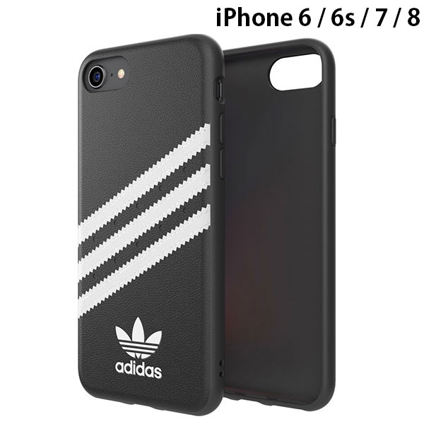 adidas iPhone SE 第2世代 / 8 / 7 / 6s / 6 OR-Moulded Case SAMBA-Black/White