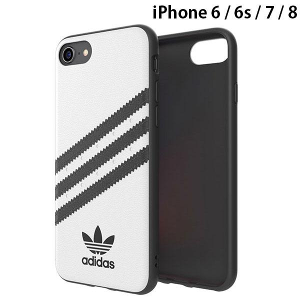 adidas iPhone SE 第2世代 / 8 / 7 / 6s / 6 OR-Moulded Case SAMBA-White/Black