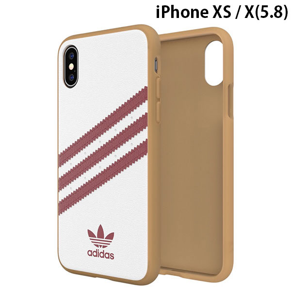 adidas iPhone XS / X OR-Moulded Case SAMBA SS19 Collegiate Burgundy