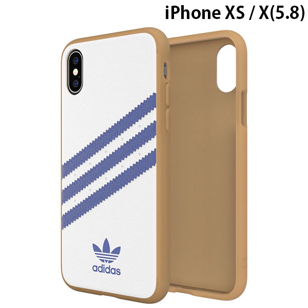adidas iPhone XS / X OR-Moulded Case SAMBA SS19 Collegiate Royal