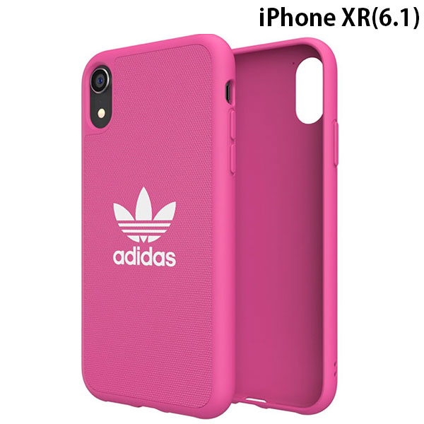 adidas iPhone XR OR-Moulded Case CANVAS SS19 Shock Pink