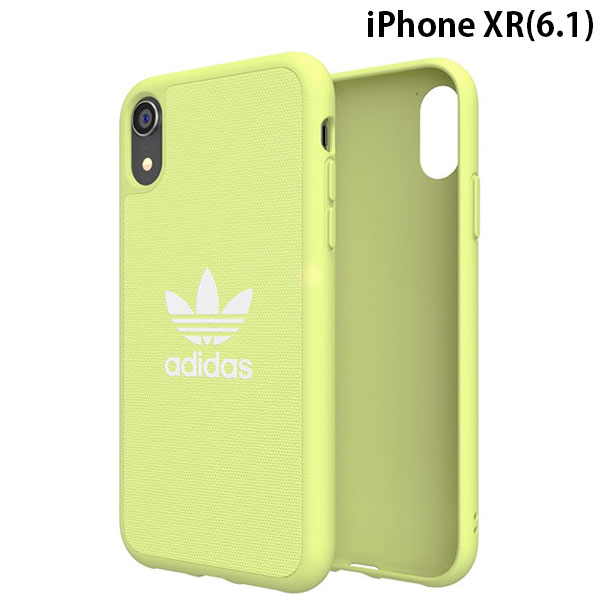 adidas iPhone XR OR-Moulded Case CANVAS SS19 Yellow