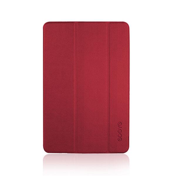 ODOYO iPad mini 第5世代 AIRCOAT PUレザー スタンド機能付き Burgundy Red