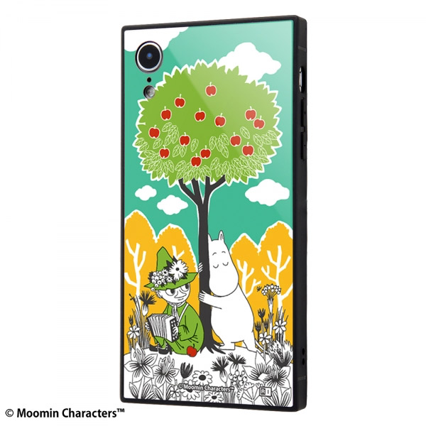 ingrem iPhone XR ムーミン 耐衝撃ケース KAKU トリプルハイブリッド コミック_3