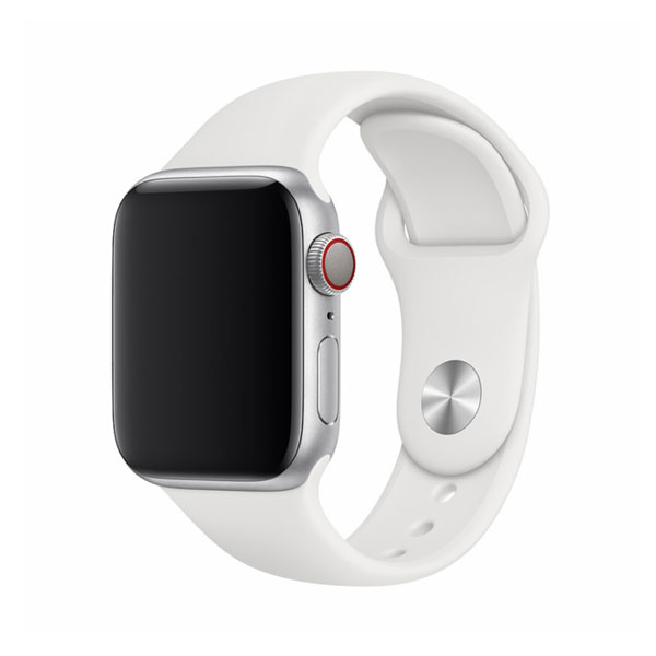 Devia Apple Watch 38mm / 40mm Deluxe Series Sport Band White