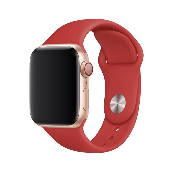 Devia Apple Watch 42mm / 44mm Deluxe Series Sport Band Red