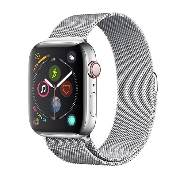 Devia Apple Watch 38mm / 40mm Elegant Series Milanese Loop Silver
