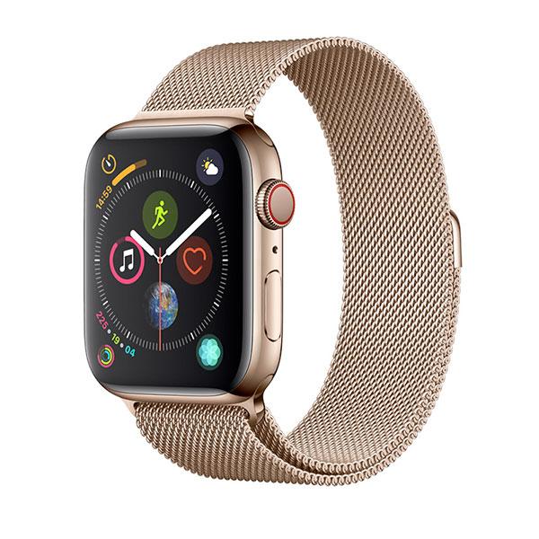 Devia Apple Watch 38mm / 40mm Elegant Series Milanese Loop Gold