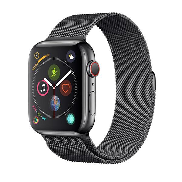 Devia Apple Watch 42mm / 44mm Elegant Series Milanese Loop Space Black