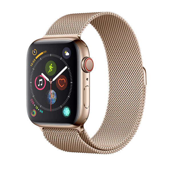 Devia Apple Watch 42mm / 44mm Elegant Series Milanese Loop Gold