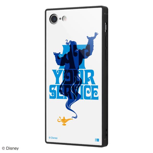 ingrem iPhone 8 / 7 耐衝撃ケース KAKU トリプルハイブリッド ディズニー アラジン 世界最強の魔人