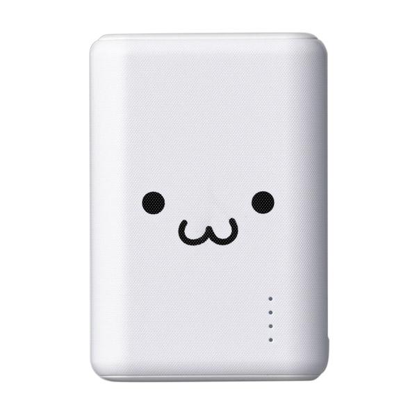 エレコム モバイルバッテリー おまかせ充電対応 QuickCharge3.0対応 Type-Cケーブル付き 10050mAh ホワイトフェイス