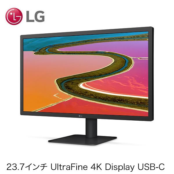 LG Electronics 23.7インチ UltraFine 4K Display USB-C HMUA2J/A