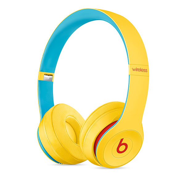beats by dr.dre Solo3 Wirelessオンイヤーヘッドフォン - Beats Club Collection - クラブイエロー