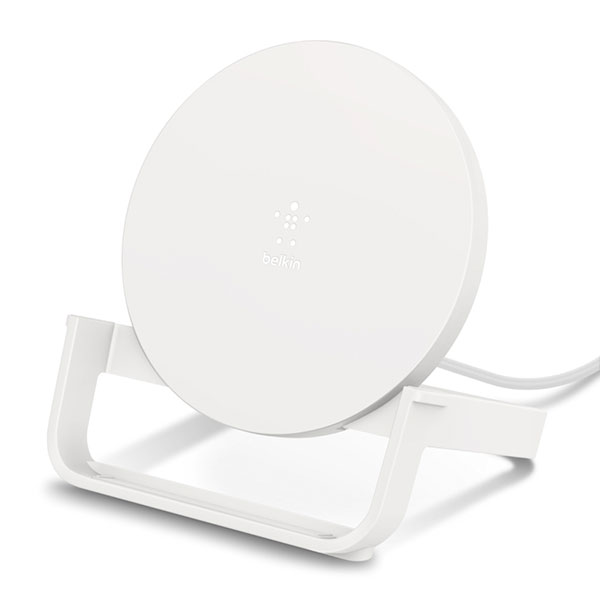 BELKIN BOOST↑UP Qi 高速充電 QC3.0 対応 micro-USBケーブル&ACアダプター付 ワイヤレス充電スタンド 10W ホワイト