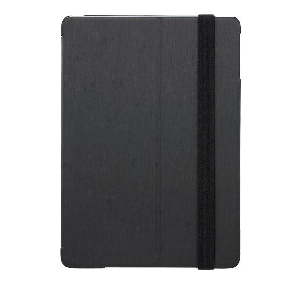BUFFALO iPad mini 第5世代 / 4 ヘアライン調 レザーケース ブラック