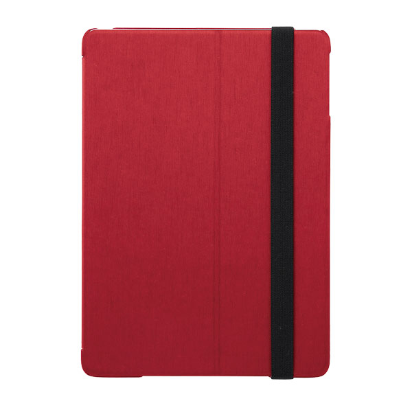 BUFFALO iPad mini 第5世代 / 4 ヘアライン調 レザーケース レッド