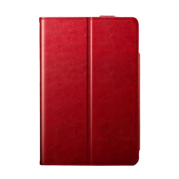 BUFFALO iPad mini 第5世代 / 4 マルチアングル レザーケース 手帳型 レッド
