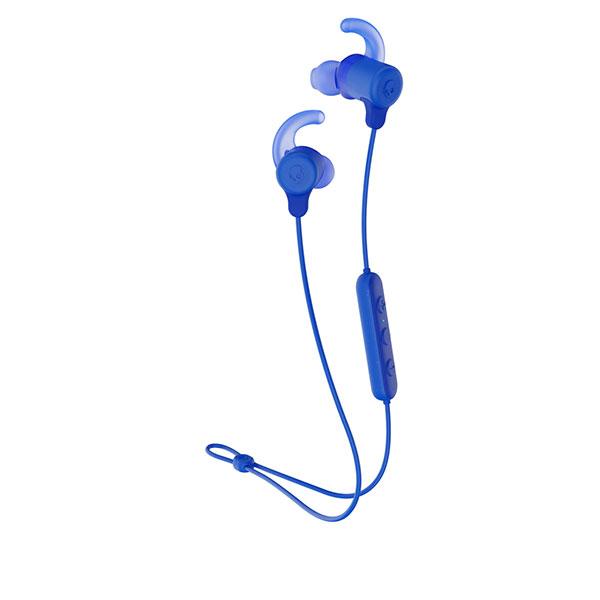 Skullcandy JIB+ ACTIVE Bluetooth 5.0 ワイヤレスイヤホン スポーツフィン BLUE