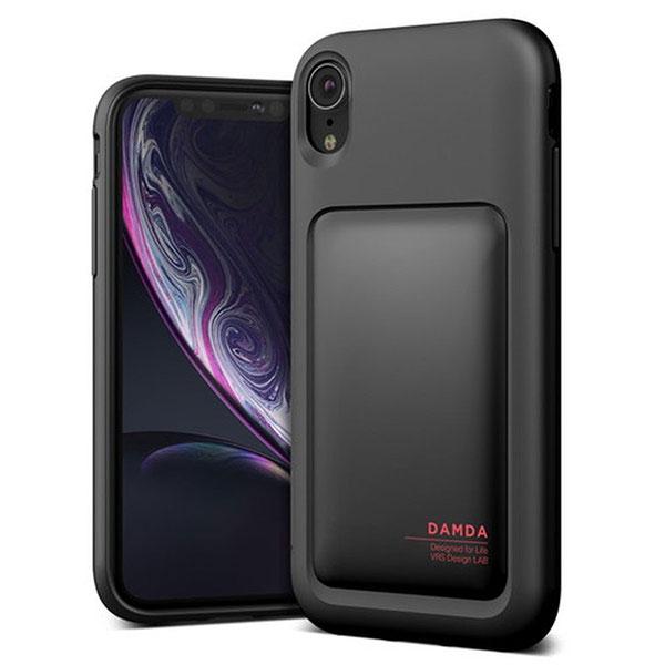 VRS DESIGN iPhone XR Damda High Pro Shield Black マットブラック