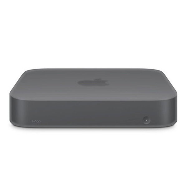 elago Mac mini (2018) SILICONE CASE (Dark Gray Translucent)