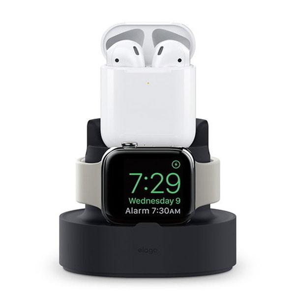 elago iPhone / AirPods / Apple Watch MINI CHARGING HUB (Black)