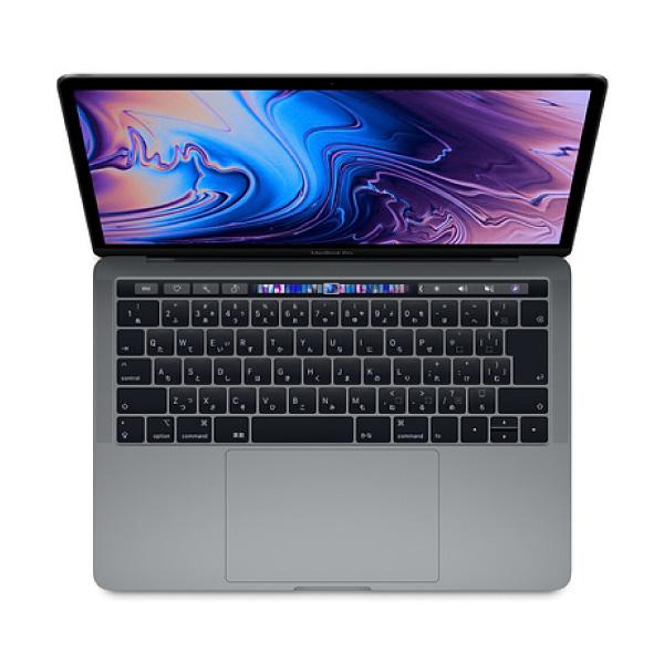 Apple MacBook Pro 13inch Touch Bar (Better) スペースグレイ 1.4GHz Quad Core i5 / 8GB / Intel Iris Plus 645 / 256GB