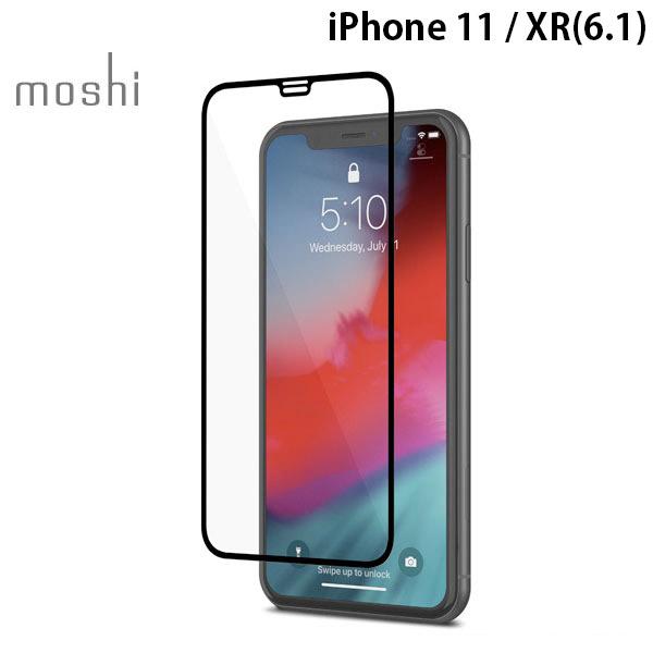 moshi iPhone 11 / XR IonGlass 0.55mm ガラス製 スクリーンプロテクター Black