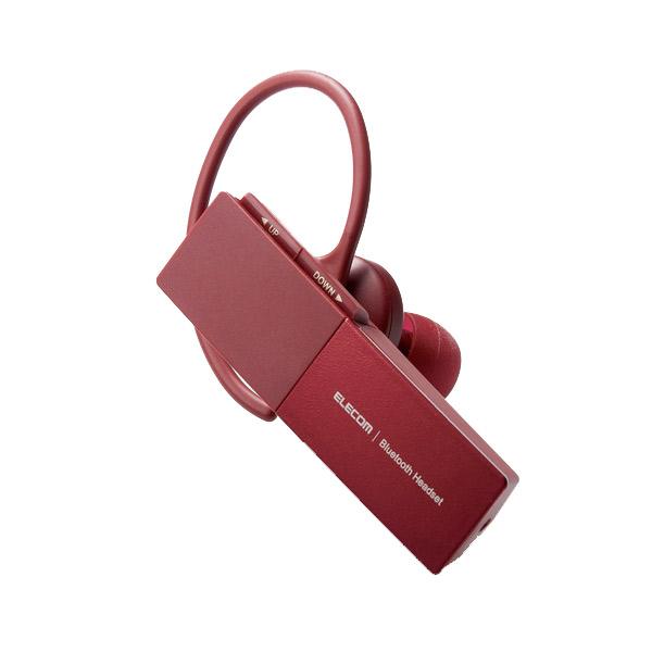エレコム ハンズフリーヘッドセット Bluetooth 5.0 HS30シリーズ Type-C端子搭載 レッド