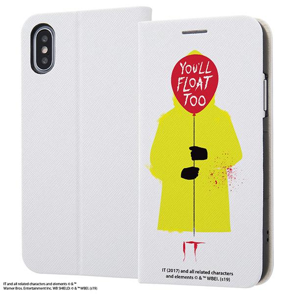 ingrem iPhone XS / X IT 手帳型ケース マグネットタイプ You'll float too.