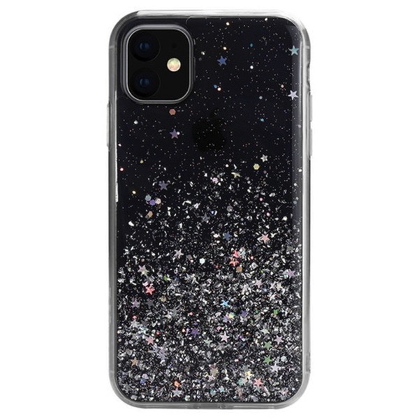 SwitchEasy iPhone 11 StarField トランスパレントブラック