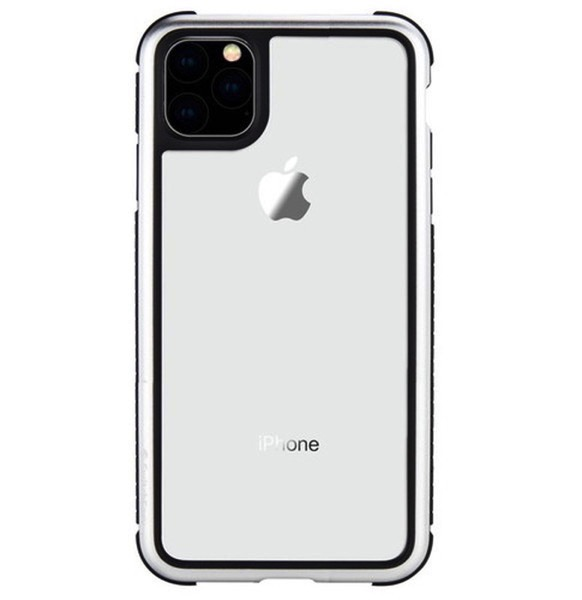 SwitchEasy iPhone 11 Pro Max GLASS REBEL メタルシルバー