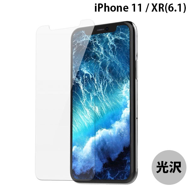 araree iPhone 11 / XR SUB CORE TEMPERED GLASS Clear 光沢