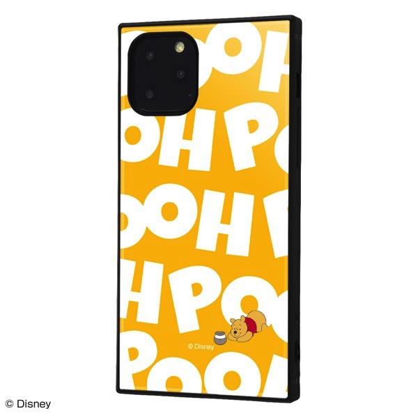 ingrem iPhone 11 Pro ディズニーキャラクター 耐衝撃ハイブリッドケース KAKU くまのプーさん I AM