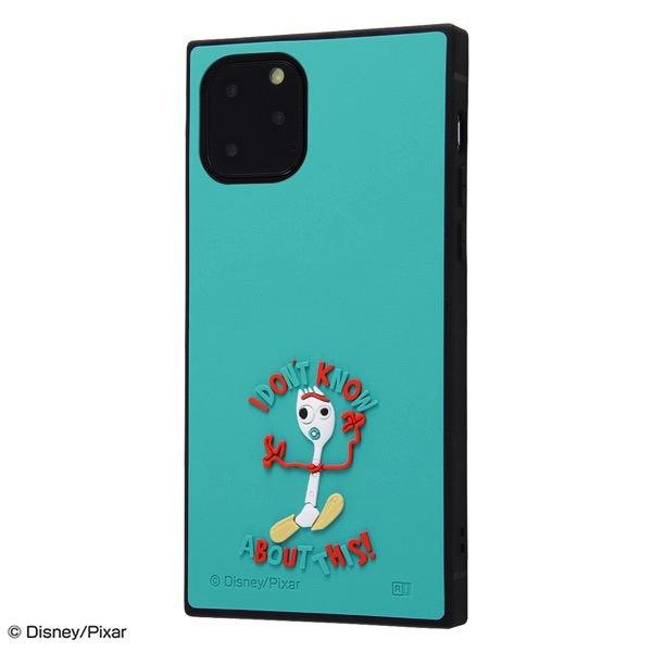 ingrem iPhone 11 Pro ディズニー・ピクサーキャラクター 耐衝撃ハイブリッド シリコン KAKU トイ・ストーリー フォーキー