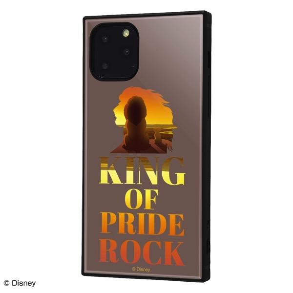 ingrem iPhone 11 Pro ディズニーキャラクター 耐衝撃ハイブリッドケース KAKU ライオン・キング Famous scene