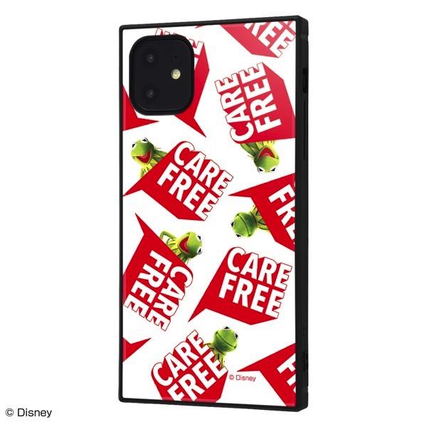 ingrem iPhone 11 マペッツ 耐衝撃ハイブリッドケース KAKU カーミット Care free_3