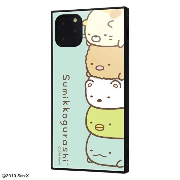 ingrem iPhone 11 Pro Max すみっコぐらし 耐衝撃ハイブリッドケース KAKU すみっコぐらし_2