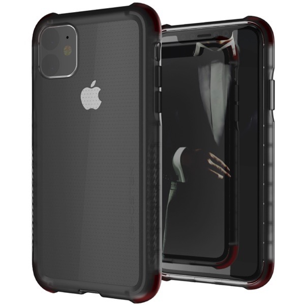 GHOSTEK iPhone 11 Covert 3 Smoke シンプルなクリアタフケース