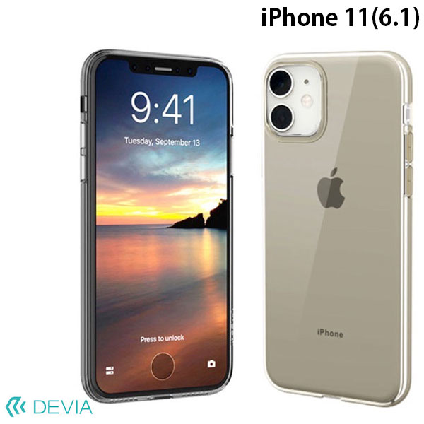 Devia iPhone 11 Naked case clear