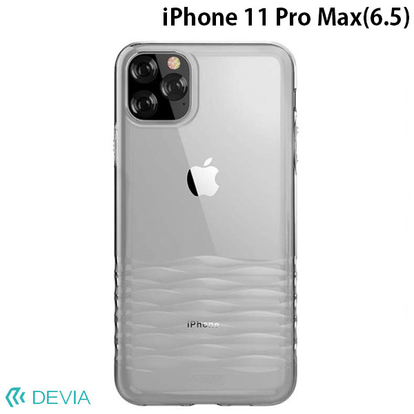 Devia iPhone 11 Pro Max Ocean2 series case clear