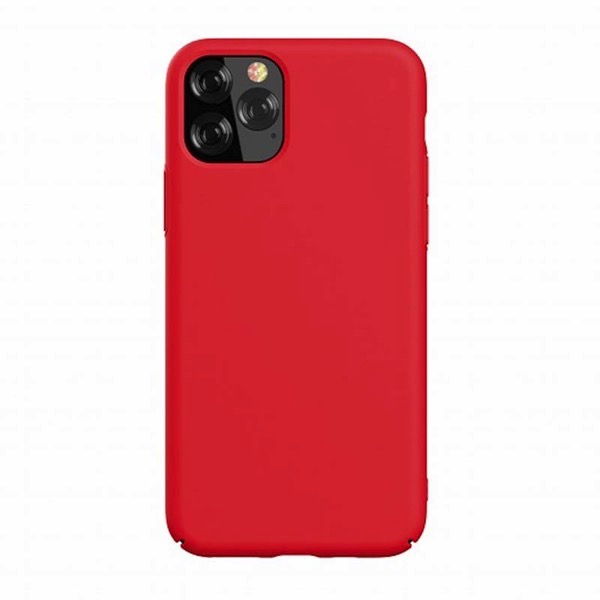 Devia iPhone 11 Pro Nature Series Silicone Case red