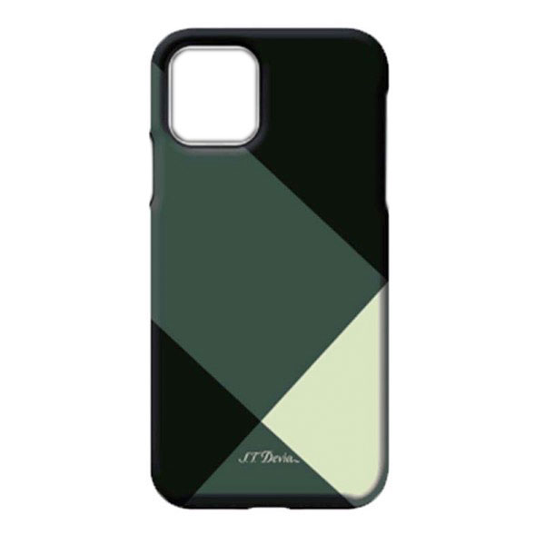 Devia iPhone 11 Simple style grid case green