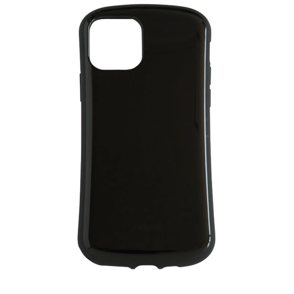 Simplism iPhone 11 Pro [CRAYON] 背面キズ修復防指紋 衝撃吸収ハイブリッドケース ブラック