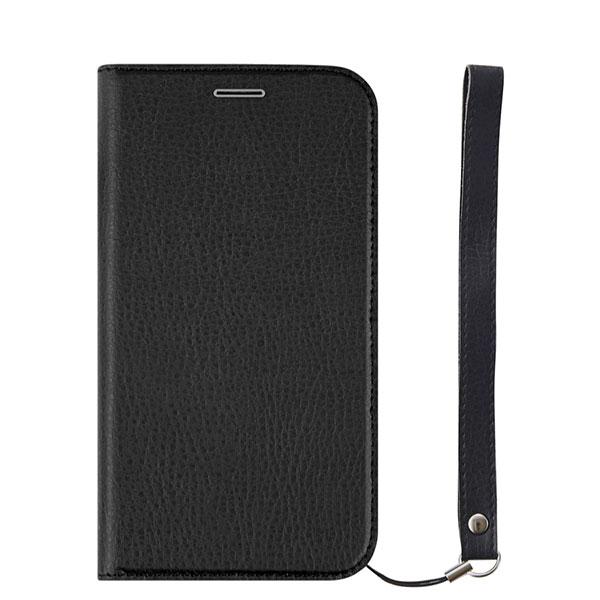 Simplism iPhone 11 Pro [FlipNote Smart] クラリーノ 耐衝撃フリップノートケース スマートON/OFF シュリンクブラック