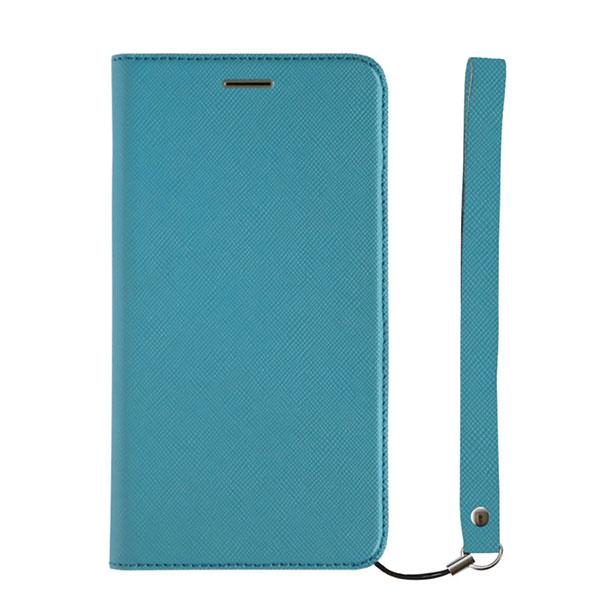 Simplism iPhone 11 Pro [FlipNote Smart] サフィアーノ 耐衝撃フリップノートケース スマートON/OFF ブルー