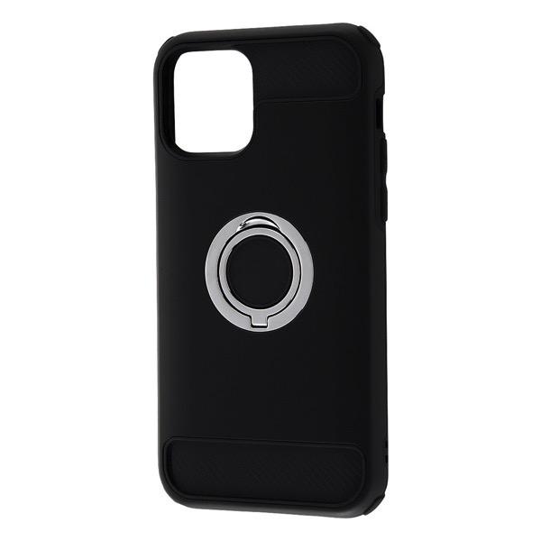 Ray Out iPhone 11 Pro 耐衝撃ケース リング付360 ブラック