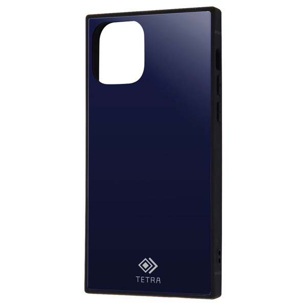 Ray Out iPhone 11 Pro 耐衝撃ガラスケース TETRA ダークネイビー