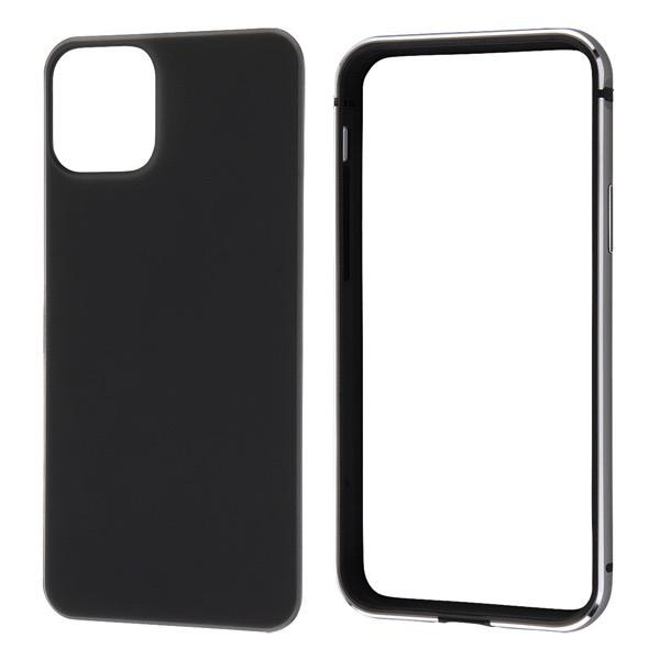 Ray Out iPhone 11 Pro アルミバンパー+背面パネル(マットブラック) ブラック